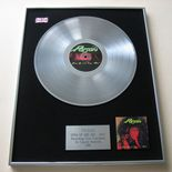 POISON - OPEN UP AND SAY ... AHH! PLATINUM LP presentation Disc